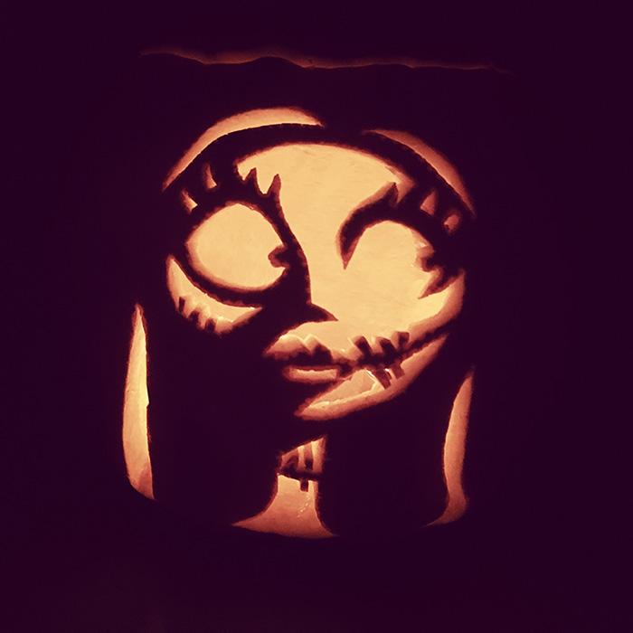 Perfect Pumpkin Carving - Sally - Volta Creative