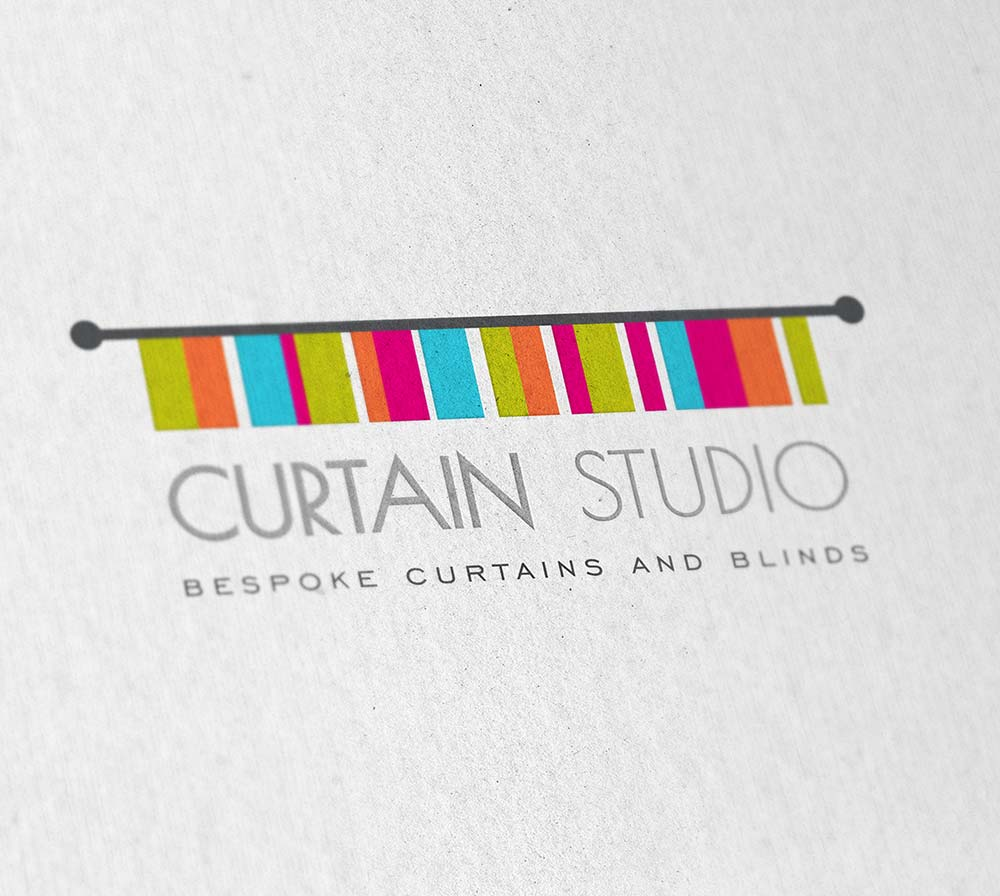 Branding for Curtain Studio - Volta Creative