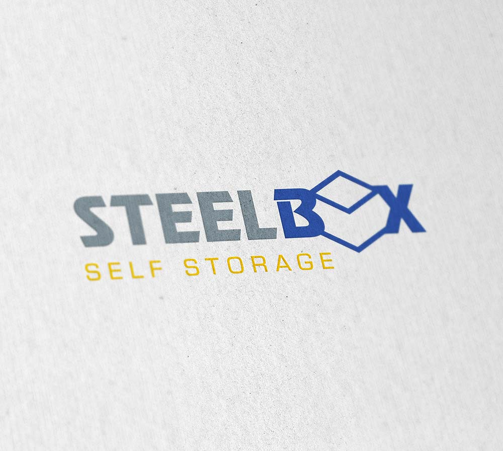 Branding for Steel Box Self Storage - Volta Creative