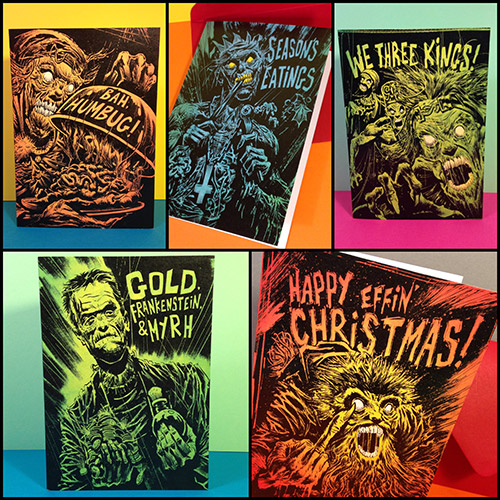 xmas card set by rob richardson