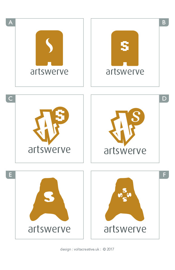 Vote for the new Artswerve logo