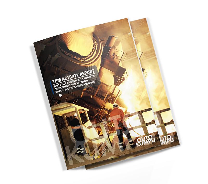 Outokumpu Booklet - Volta Creative