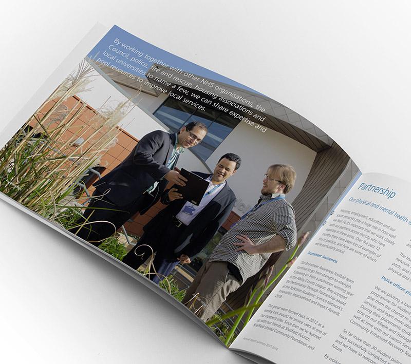 NHS SHSC Brochure - Volta Creative