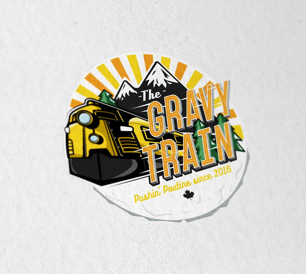 Branding for The Gravy Train - Volta Creative Sheffield
