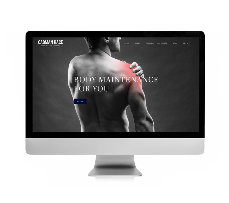 Cadman Race Website - Volta Creative Sheffield