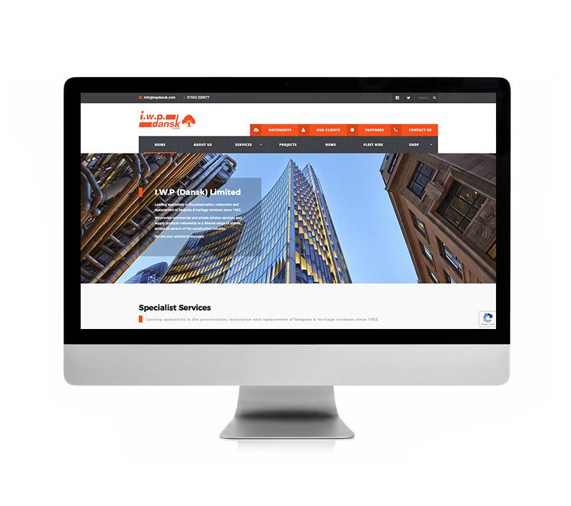IWP Dansk Website - Volta Creative Sheffield