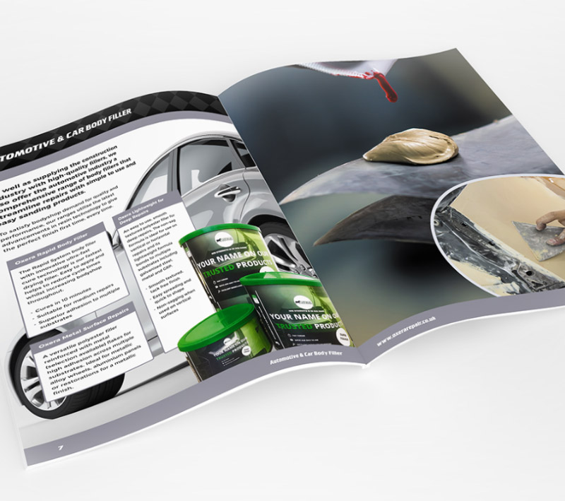 Oxera Product Brochure - Volta Creative