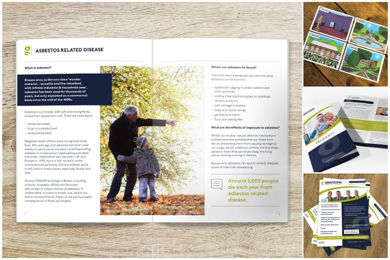 designing for graysons solicitors