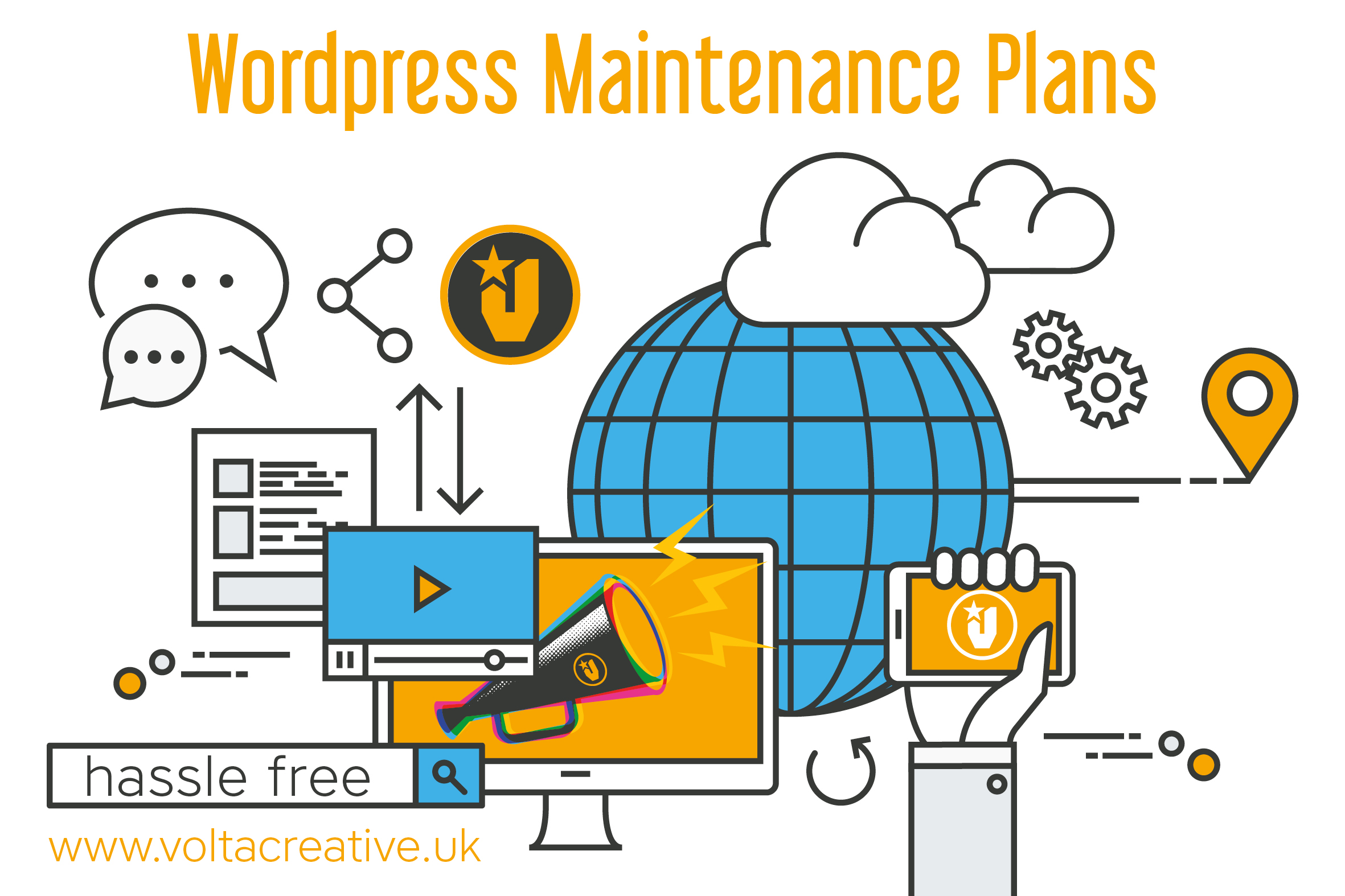 Wordpress Maintenance Plans from Volta Creative