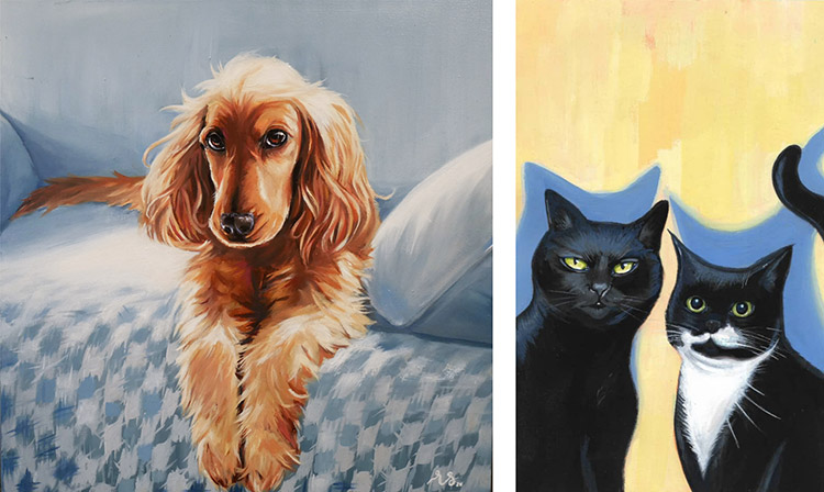rebecca stewart dog and cats